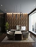 Рельефные деревянные стеновые  панели, фото 2