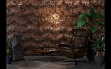 Рельефные деревянные стеновые  панели, фото 4