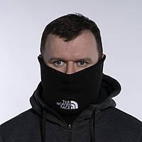 Бафф мужской зимний теплый качественный черный горловик снуд The North Face