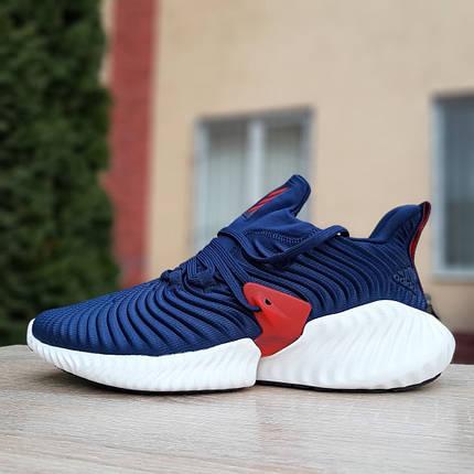 """Кроссовки Adidas Alphabounce Instinct """"Синие"""", фото 2"""