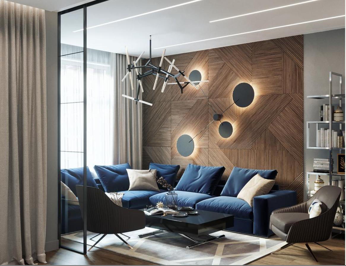 Декоративные панели из дерева