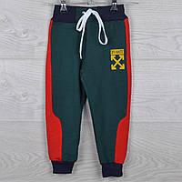 """Спортивные штаны детские """"Off White реплика"""" 2-3-4-5-6 лет (92-116 см). Зеленые. Оптом"""