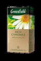 Чай травяной в пакетиках Greenfield Rich Camomile 1,5 г х 25 шт