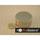 Неодимовый магнит 45*25 ( сила 92 кг ) Польша N42, фото 3