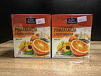 Чай Lord Nelson Herbata Pomarancza i Platki Nagietka 20 пакетов
