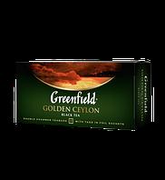 Чай чёрный в пакетиках Greenfield Golden Ceylon 2 г х 25 шт