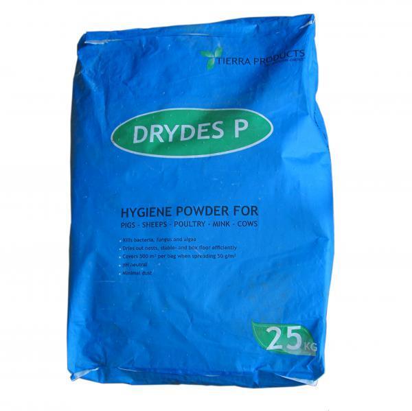 DryDes P - гигиенический порошок 25кг для дезинфекции и сушки мест содержания животных