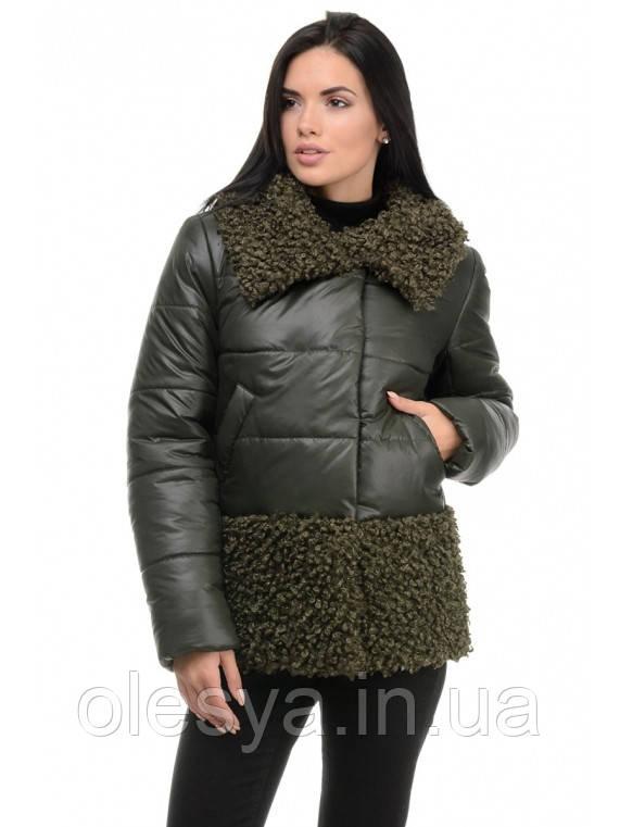 Куртка молодежная зимняя женская Барбара Размер 44
