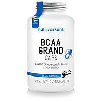 Аминокислоты Nutriversum BCAA GrandCaps, 100 caps