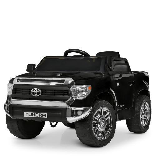 Детский электромобиль JJ2125EBLR-2 черный Toyota Tundra