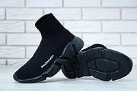 Мужские кроссовки Balenciaga Speed Trainer black. [Размеры в наличии: 40,41,42,43,44,45], фото 1