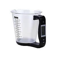 Электронные кухонные весы с мерным стаканом
