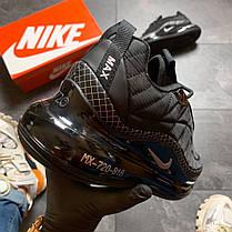 Чоловічі кросівки Nike Air Max 720-818 Black, фото 3