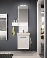 Комплект: умывальник 60cm прямоугольный + шкафчик для умывальника белый глянец KOLO M39006000 Nova Pro