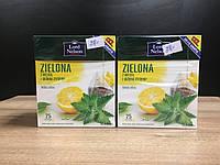 Чай Lord Nelson Mieta ze skorka cytryny 20 пакетов