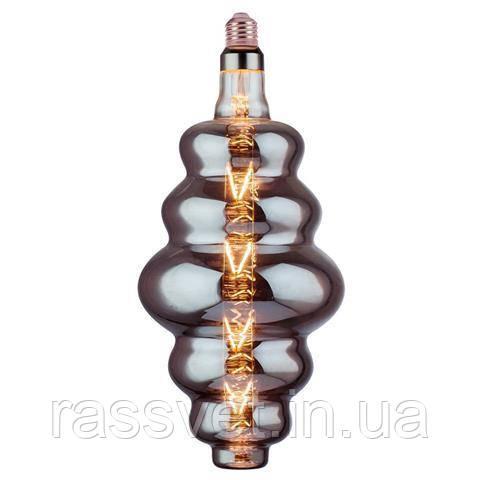 Лампа Filament led ORIGAMI-XL 8W E27 2400К титан