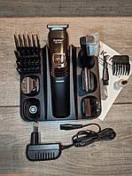 Машинка для стрижки, триммер Kemei LFQ-KM-5900 6 в 1, фото 1