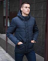 "Мужская весенняя   Куртка Pobedov Jacket ""Belfort"" Navy"