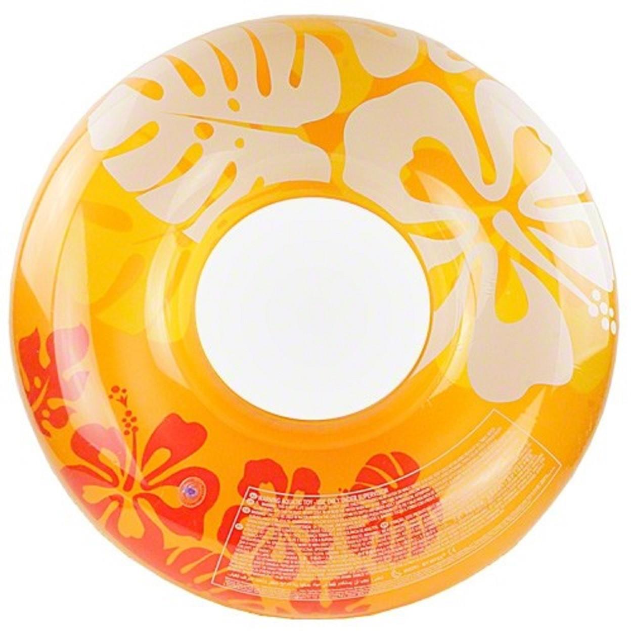Надувной круг Intex 59251 Оранжевый (int59251_2)