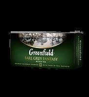 Чай чёрный в пакетиках Greenfield Earl Grey Fantasy 2 г х 25 шт