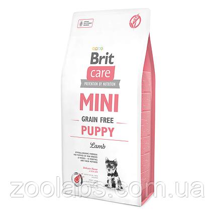 Корм Brit Care для щенков мелких пород | Brit Care Mini Puppy Lamb 2,0 кг, фото 2