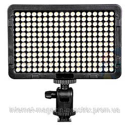 Накамерная светодиодная LED панель Tolifo PT-160S
