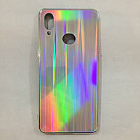 Чехол для Samsung A10s Holografic Silver