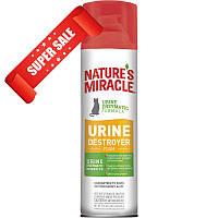 Аэрозоль-пена для устранения запаха мочи кошек 8in1 Natures Miracle Urine Destroyer 518 мл