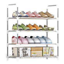 Полка для обуви 4 яруса - стеллаж для обуви