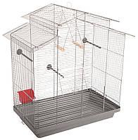 """Клітка Природа """"Німфа"""" хром для птахів 70 см/40 см/76 см"""