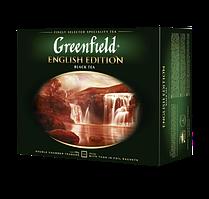 Чай чёрный в пакетиках Greenfield English Edition 2 г х 50 шт