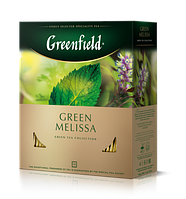 Чай зелёный в пакетиках Greenfield Green Melissa 1.5 г х 100 шт