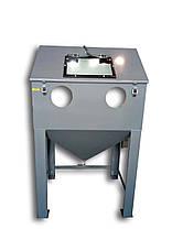 Инжекторный пескоструй 950х700х700 | Пескоструйная камера PsTech, фото 2