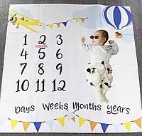 Фотоальбом для новорождённых, фотопеленка для достижений по месяцам