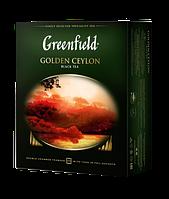Чай чёрный в пакетиках Greenfield Golden Ceylon 2 г х 100 шт