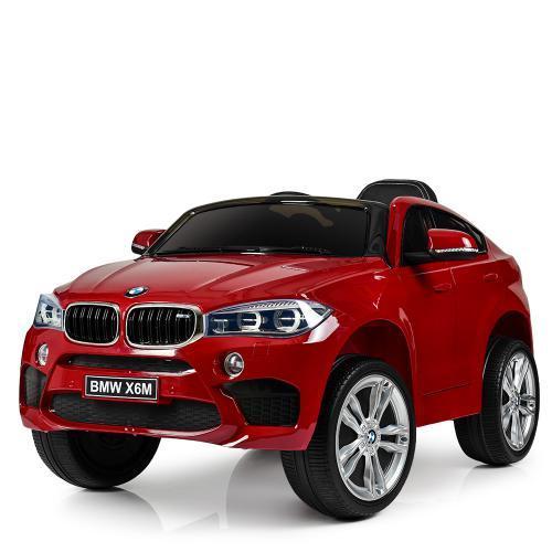 Электромобиль Джип  JJ2199EBLRS-3 крашенный красный