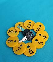Брелки для ключей гостиниц, спорт залов, камер хранения, шкафчиков, бассейнов
