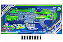 Бластер с поролоновыми шарами на батарейках в коробке FJ553 р.45 * 21 * 7 см. (Масс)