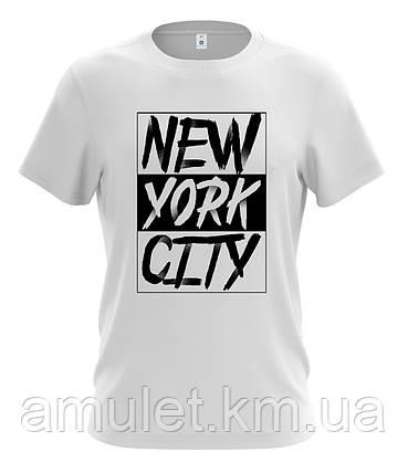 """Футболка чоловіча """"NYC New York"""", фото 2"""