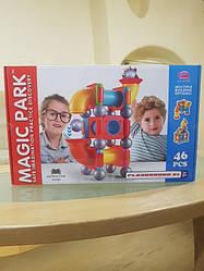 Магнитный конструктор MAGIC PARK 46 деталей Limo Toy