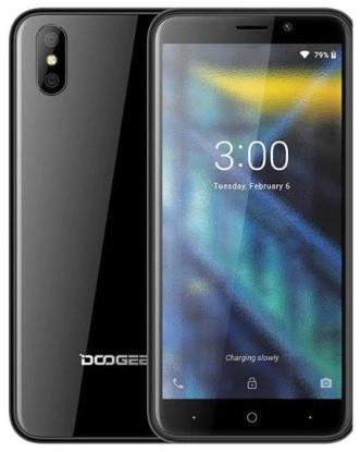 "Смартфон Doogee X50 1/8GB Black, 5+0,3/5Мп, 4 ядер, 2sim, 5"" IPS, 2000mAh, GPS, 3G"