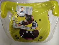 Бустер Tambu Phenix для дітей вагою 15-36 кг Губка Боб жовтий, фото 1