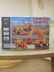 Магнитный конструктор MAGniSTAR 87 деталей Limo Toy