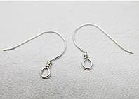 Застежки швензы серебряные для сережек (0,18 г)