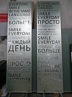 Нанесение надписи на зеркало пескоструем