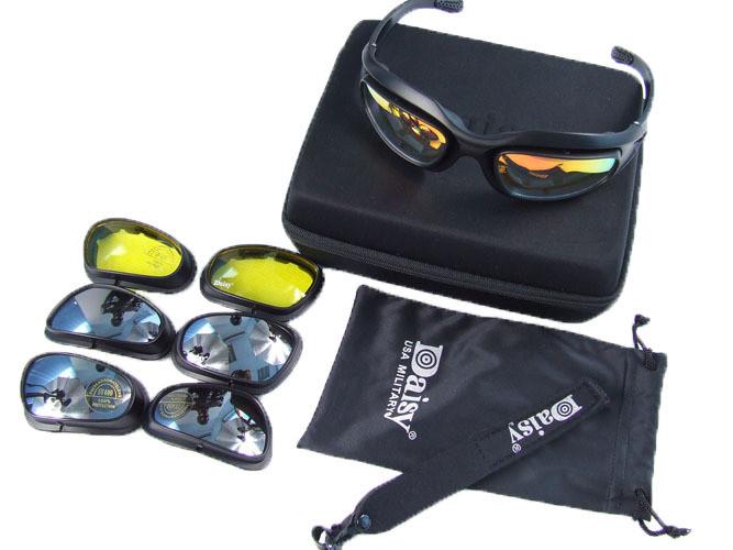 Спортивные / тактические очки со сменными линзами Daisy C5