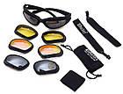 Спортивные / тактические очки со сменными линзами Daisy C5, фото 2
