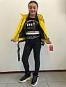 "Куртка весенняя ""Софи"" на девочку желтого цвета, фото 6"