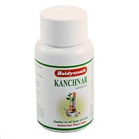 Канчнар гугул, канчнар гуггул, при заболеваниях лимфатической системы, варикоз. Kanchnar Guggul (80tab)