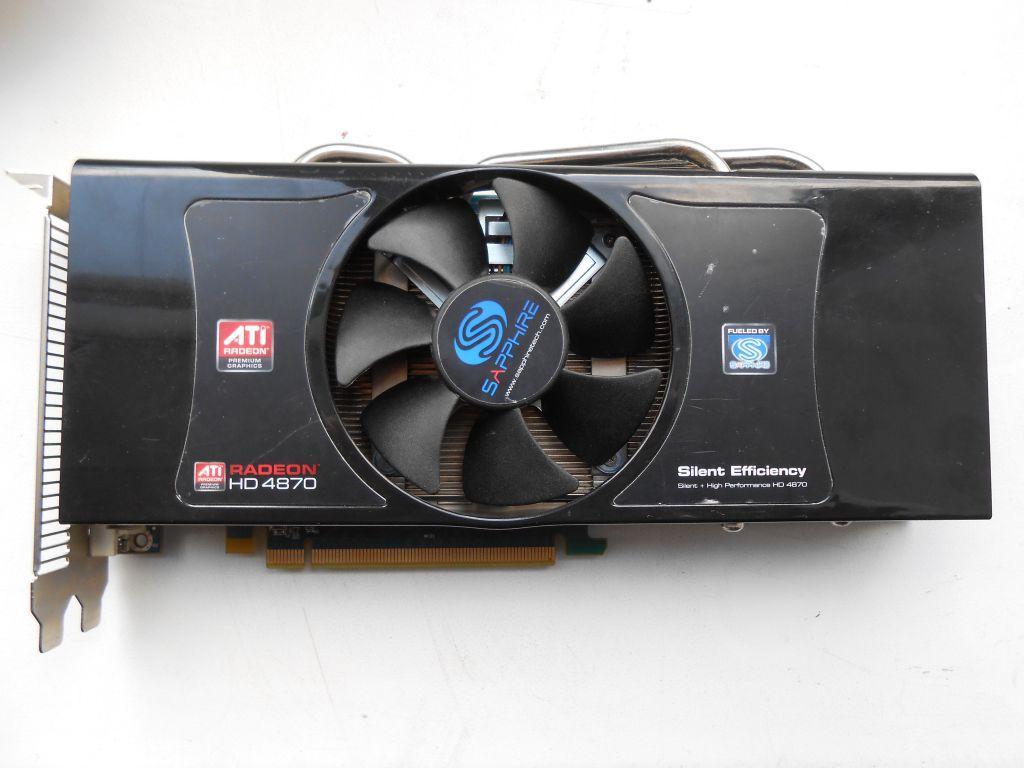 Видеокарта, AMD Radeon HD 4870, 512 мб, GDDR5